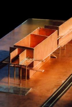 lebendige gestaltung innenarchitektur modell tanzwerkstatt. Black Bedroom Furniture Sets. Home Design Ideas