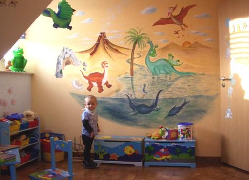 Beautiful Wandmalerei: Im Land Der Dinosaurier, Schwerin, 2011 Nice Design